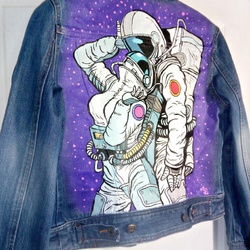 Куртка Love in a space suit